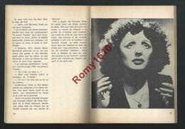 EDITH PIAF PRESENTEE PAR PIERRE HIEGEL. EXEMPLAIRE NUMEROTE N° 44935. Nombreuses Photos En Noir Et Blanc. - Musique