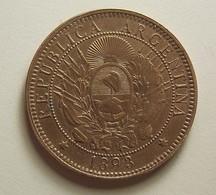 Argentina 2 Centavos 1893 - Argentine