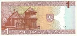 LITHUANIA P. 53a 1 L 1994 UNC - Lituanie