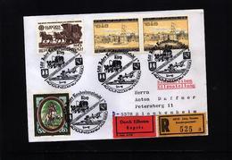 Austria / Oesterreich 1990 Concorde Interesting Registered Letter - Concorde