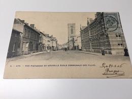 Cp Ath  Rue Pintamont Et Nouvelle école Communale Des Filles - Ath