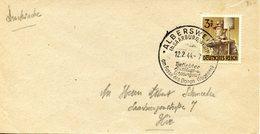 Cachet De Propagande Touristique D'ALBERSWEILER (ABRESCHVILLER) Daté Du 12/02/1944 - Elzas-Lotharingen