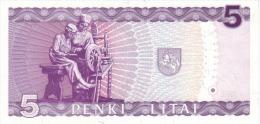 LITHUANIA P. 55a 5 L 1993 UNC - Lituanie