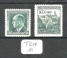 TCH YT 332 A En X + 332 C En (x) - Czechoslovakia