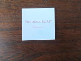 C.PF /  VICTORIA ' S  SECRET  FRAGRANCES - Cartes Parfumées