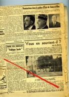 LES NOUVELLES De VERSAILLES DU MERCREDI 29 AVRIL 1936 - Bords Extérieurs Du Journal En Mauvais état, Reste Bon - Journaux - Quotidiens