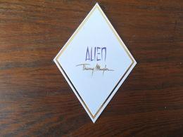 C.PF /  THIERRY MUGLER  ALIEN - Cartes Parfumées