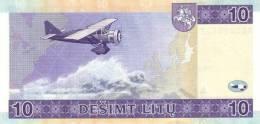 LITHUANIA P. 65 10 L 2001 UNC - Lithuania