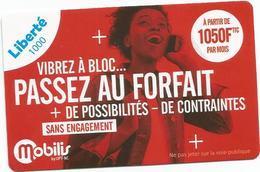 Nouveauté   Recharge Liberté 1000francs   (tiroir) - New Caledonia