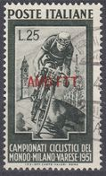 TRIESTE ZONA A - 1951 - Yvert 119 Usato. - 7. Trieste
