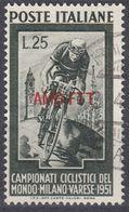 TRIESTE ZONA A - 1951 - Yvert 119 Usato. - 7. Triest