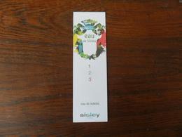 C.PF /   SISLEY  EAU DE SISLEY - Cartes Parfumées