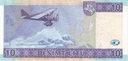 LITHUANIA P. 68 10 L 2007 UNC - Lituania
