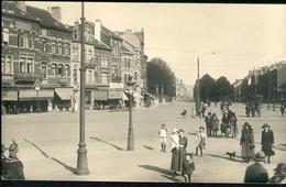 KOEKELBERG : VERITABLE CARTE PHOTO : Place Simonis Bien Animée !! - Koekelberg
