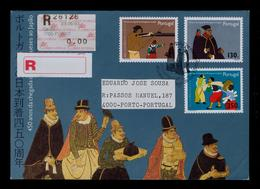 450 Years Portuguese Discoveries JAPAN Portugal Musket Catholic Priests Madeira Arms Tourisme #9898 - Theologians