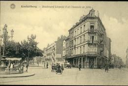 KOEKELBERG :  Bd Léopold II Et Chaussée De Jette  /  Marchand De Glaces - Koekelberg