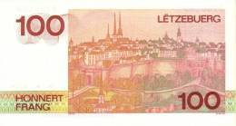 LUXEMBOURG P. 58b 100 F 1986 UNC - Luxembourg