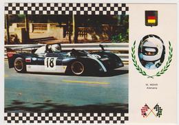 1382/ M[anfred] Mohr (Germany / Deutschland). A.M.S. 273 Tecno. Grand Prix (1974).- Non écrite. Unused. Ungelaufen. - Grand Prix / F1