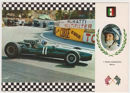 1383/ Pedro RODRÍGUEZ (Mexico). Cooper Maserati F-1. Grand Prix (1969).- Non écrite. Unused. Non Scritta. Ungelaufen. - Grand Prix / F1