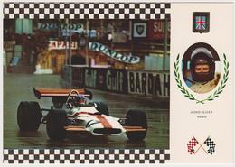 1384/ Jackie OLIVER (Scotland, UK). B.R.M. 153, F-1. Grand Prix (1971).- Non écrite. Unused. Non Scritta. - Grand Prix / F1
