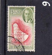 1950 GV1 Issue $1.20 Used - Barbados (...-1966)