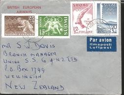 O) 1952 FINLAND, XV OLYMPIC GAMES 1952, DIVER SC B110-SOCCER PLAYERS SC B111-RUNNERS SC B113-STADUM B112, LLMAPOSTI-BRIT - Finland