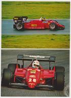 1390/ FERRARI (2 Cartoline / Carte, Postcards) - Non écrites. Unused. No Escritas. Non Scritte. Ungelaufen. - Grand Prix / F1