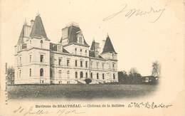 """CPA FRANCE 49 """"Env. De Beaupréau, Chateau De La Bellière"""" - France"""