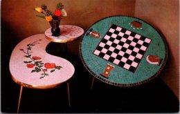 Florida Lake Wales Ceramic Tables At The Mosaic Gift Center
