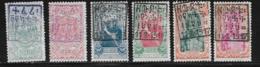 Ethiopia Scott # 101-107 Unused No Gum Set 1909 Stamps Handstamped, 1917,  CV$105.00 - Ethiopia