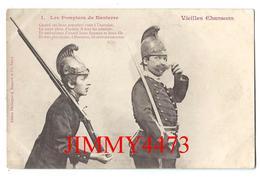 CPA - HUMOUR - Les Pompiers De NANTERRE - Vieilles Chansons + Texte - Edit. A. Bergeret Et Cie Nancy - Scans Recto-Verso - Humour