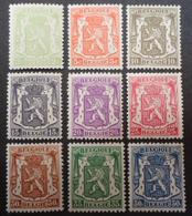 418a/426 Mnh** - Belgien