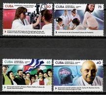 Cuba 2018 / Medicine Health Doctors Nurses MNH Medicina Salud Médicos Enfermeras  Cu11633  C3 - Medicina
