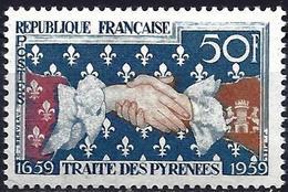France 1959 - Mi 1265 - YT 1223 ( Treaty Of Pyrenees ) MNH* - Ungebraucht