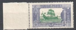 Tunesia Mnh** Ship Bateau - Postage Due