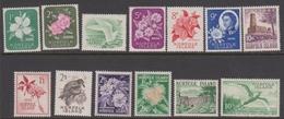 Norfolk Island ASC 29-41 1960 Flora And Fauna Definitives, Mint Never Hinged - Norfolk Island