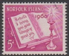 Norfolk Island ASC 43 1960 Christmas, Mint Never Hinged - Norfolk Island