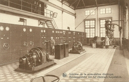 SOIGNIES - CARRIERES DU HAINAUT - INTERIEUR DE LA SOUS STATION ELECTRIQUE (ref 5286) - Soignies