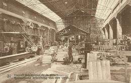 SOIGNIES - CARRIERES DU HAINAUT - TRAVAIL MECANIQUE DE LA PIERRE (ref 5287) - Soignies
