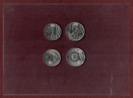 Moldova 2018 Set Of 2 Coins 1 Lei And 2 Lei UNC - Moldavie