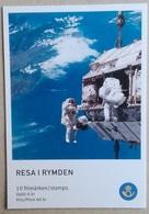 Sweden 2009. Mi 2714-2718. Journey Into Space. 1st Swedish Astronaut - 3 Years. Booklet - Spazio