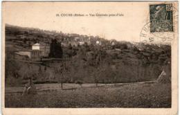 3YS 938 CPA - COURS - VUE GENERALE PRISE D'ISLE - Cours-la-Ville