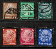 GERMANY  Scott # 436-41 VF USED (Stamp Scan # 459) - Germany