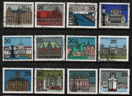 GERMANY  Scott # 869-79A VF USED (Stamp Scan # 459) - [7] Federal Republic