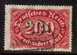 GERMANY  Scott # 200 VF USED (Stamp Scan # 459) - Germany