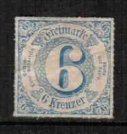 NORTH GERMAN CONFEDERATION  Scott # 62* VF OG MINT HINGED (Stamp Scan # 459) - North German Conf.