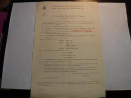 MONTEBELLUNA  --- TREVISO  ---  PRO LOCO MONTEBELLUNA --III° CONCORSO  NAZIONALE DI POESIA - Italia