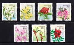 Australia 2017 State Floral Emblems Set Of 7 Used - Oblitérés