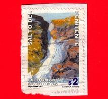 URUGUAY - Usato - 2002 - Cascate Del Penitente -  Waterfall - 2 - Uruguay