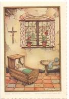 Geboortekaartje Carte De Naissance - Linda Devos - Lauwe 1954 -  Illustr Anton Pieck - Naissance & Baptême
